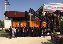 Lieu de stockage FABO Stone Crushing Machines & Concrete Batching Plants Manufacturing Company