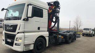 camion ampliroll MAN 26.400, hooklift trucks