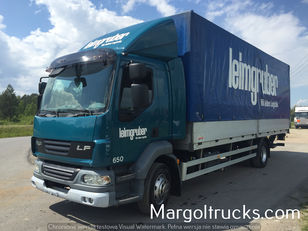 camion bâché DAF LF 55 250 plandeka + winda Sprowadzony ze Szwajcarii