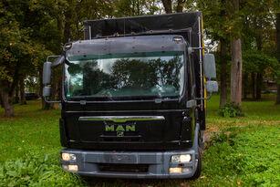 camion bâché MAN TGL 8.180