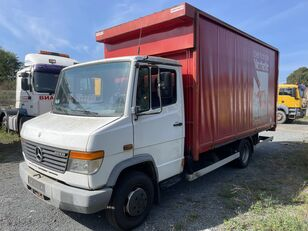 camion bâché MERCEDES-BENZ 814D