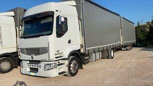 camion bâché RENAULT PREMIUM 450 euro 5 biga