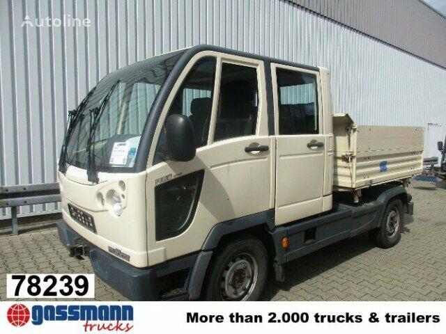 camion benne MULTICAR M30 Fumo Doka Kipper Standheizung/AHK
