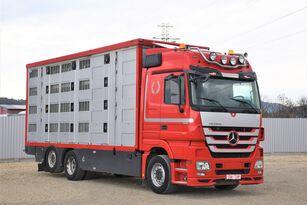 camion bétaillère MERCEDES-BENZ ACTROS 2548 TIERTRANSPORTWAGEN 7,40m / 3STOCK