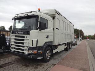 camion bétaillère SCANIA 164G 480