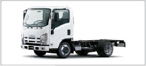 camion châssis ISUZU NMR-85L