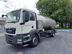 camion-citerne MAN TGS 18.360 - citerne en inox isotherme-2 compartiments