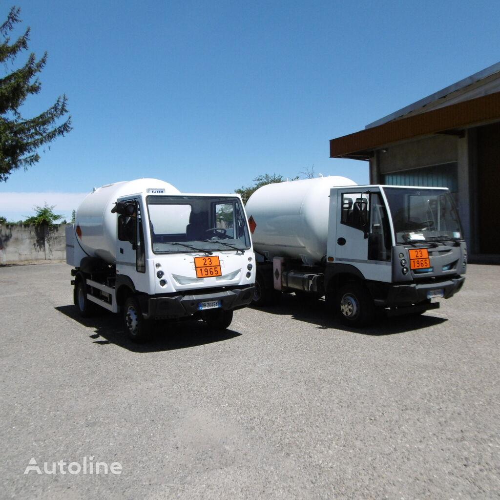 camion de gaz BUCHER