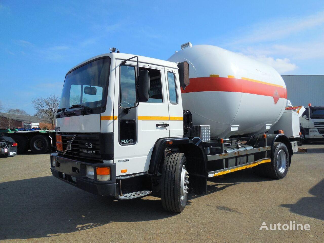 camion de gaz VOLVO Volvo GAS 17.000 - FL618 - P27BH - GPL