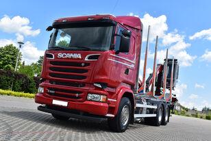 camion forestier SCANIA R 580 V8 / OPTICRUISE / SPRING / RETARDER