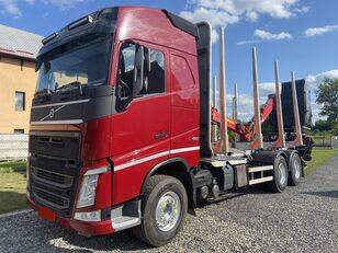 camion forestier VOLVO FH460 6x4 Loglift 96ST