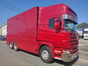 camion fourgon SCANIA 144 G  460  V8   6x2  ///MANUEL//RETARDER///FRENCH TRUCK///