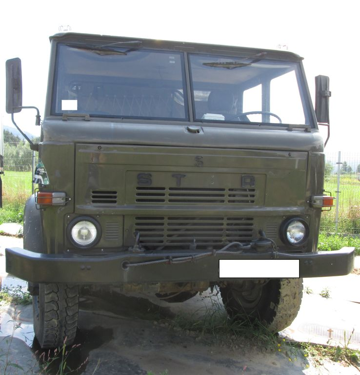 camion fourgon STAR A 266