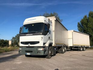 camion magasin RENAULT PREMIUM 420 DCI + biga Omar