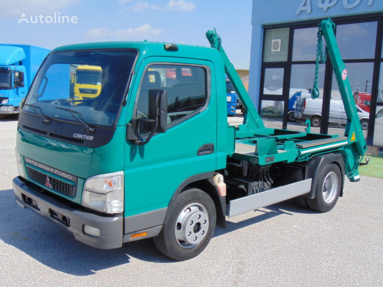 camion multibenne MITSUBISHI FUSO CANTER FE85