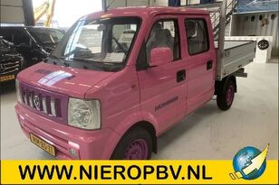 camion plateau DFSK V21 Dubb cab Airco MMBSZ1 * SPECIAL PINK HUMMER EDITION*