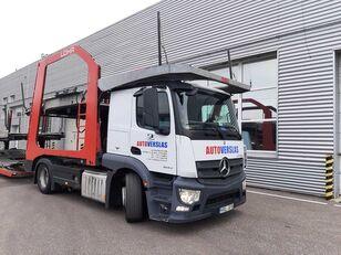 camion porte-voitures MERCEDES-BENZ ACTROS + remorque porte-voitures