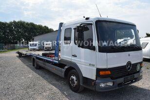 camion porte-voitures MERCEDES-BENZ Atego 818 Csörlővel és Rámpával