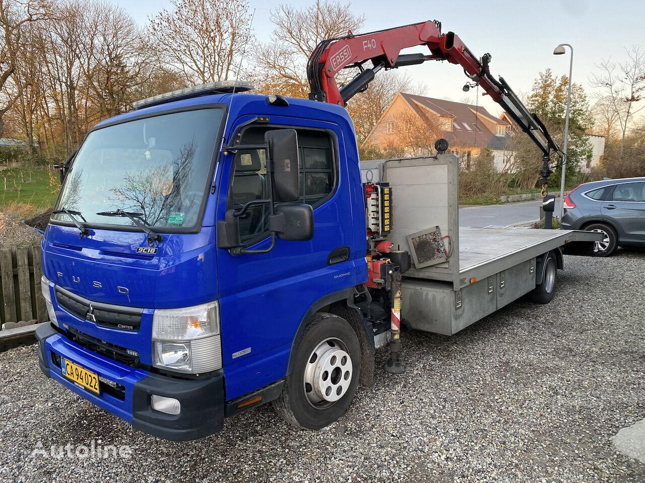 camion porte-voitures Mitsubishi Fuso Canter