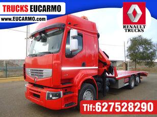 camion porte-voitures RENAULT PREMIUM 460
