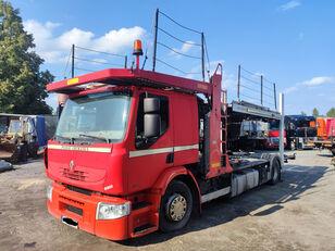 camion porte-voitures RENAULT Premium 410 DXI Autotransporter ROLFO, Laweta, Lohra