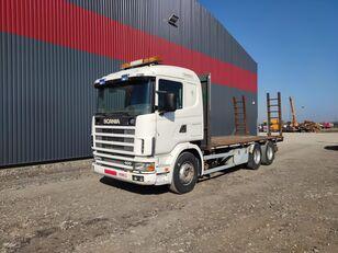 camion porte-voitures SCANIA 124.400