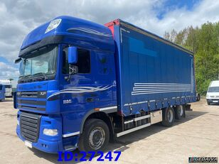 camion rideaux coulissants DAF XF 105.460 - ATE - Euro 5