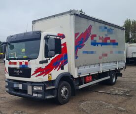camion rideaux coulissants MAN TGM 15.250 from FR, 214000 km