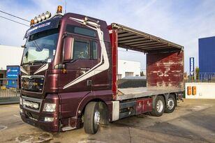 camion rideaux coulissants MAN TGX 26.480 XXL 6X2-4 ( gestuurd/Dir./steering/gelenkt)
