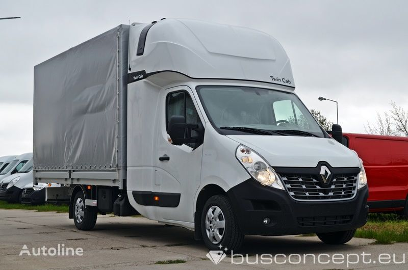 camions bâchés RENAULT Master 8EP - Twin Cab ( Fridge & Table)) neuf
