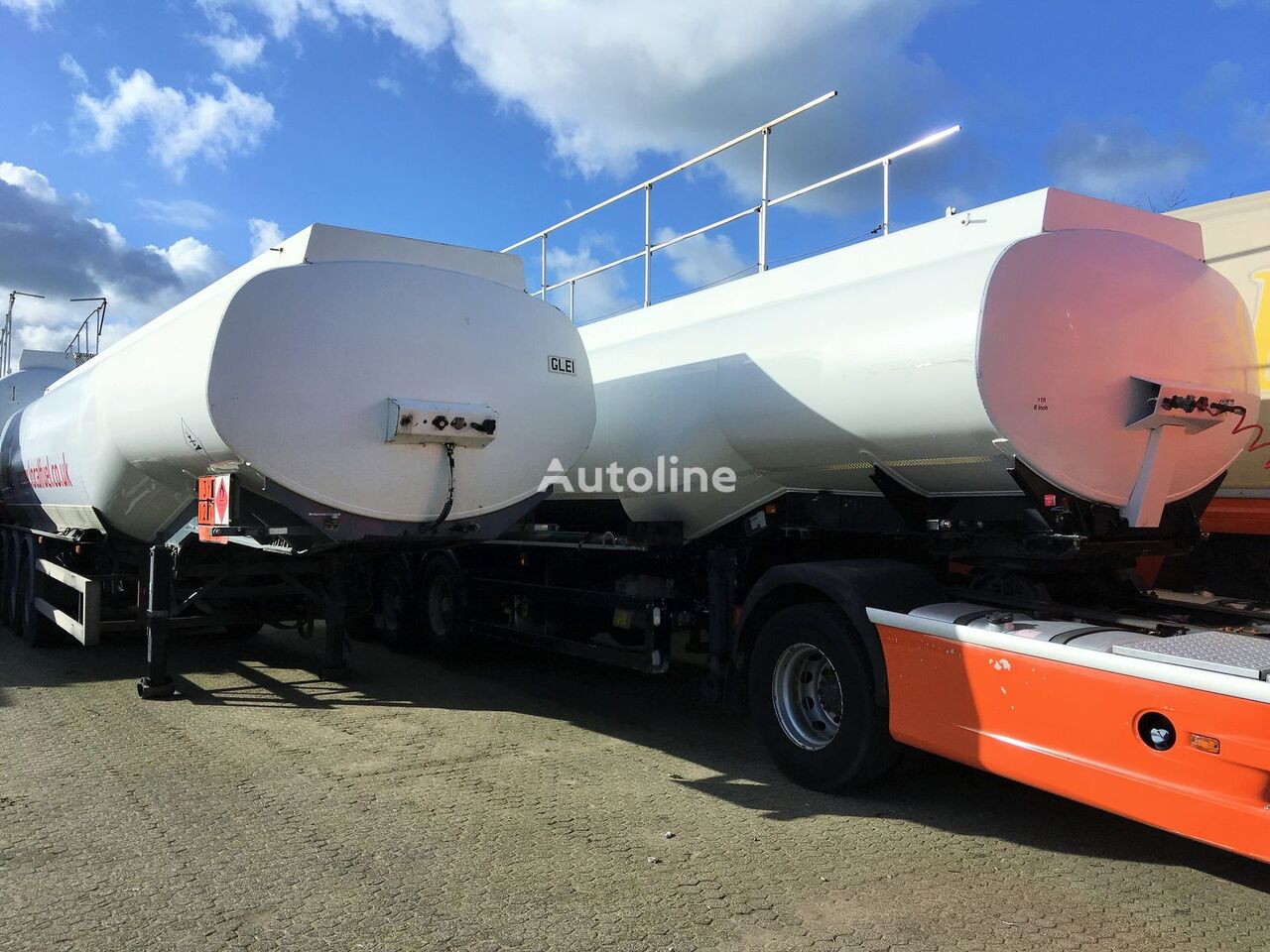 citerne de carburant FRUEHAUF Fuel 40.400 ltr Benzin-Diesel LGBF