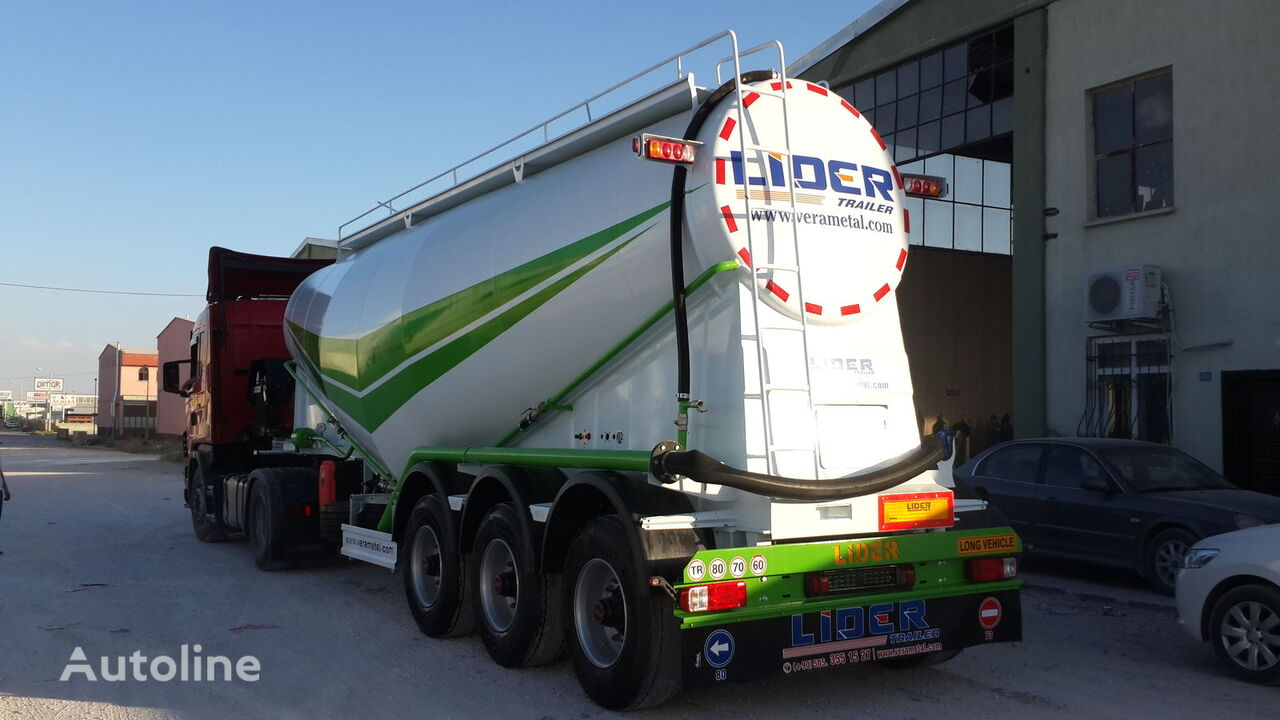 citerne de ciment LIDER 2019 year new from manufacturer company Lider Trailer neuve