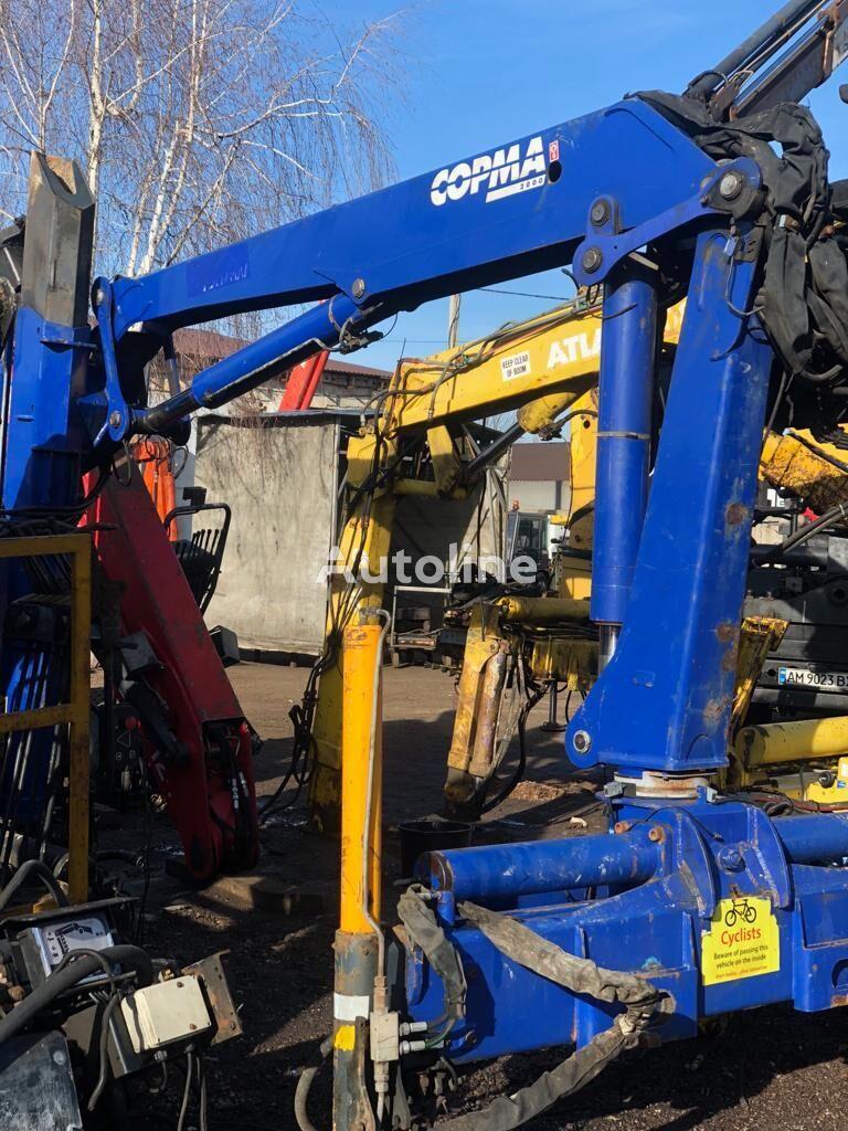 grue auxiliaire Copma  vylet 6,9m, na vylete 1800 kg