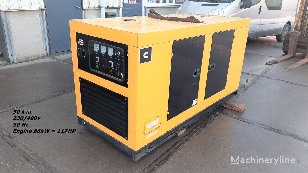 générateur diesel CUMMINS STC-50 3 x Phase 230v400v 6 cylinders Diesel