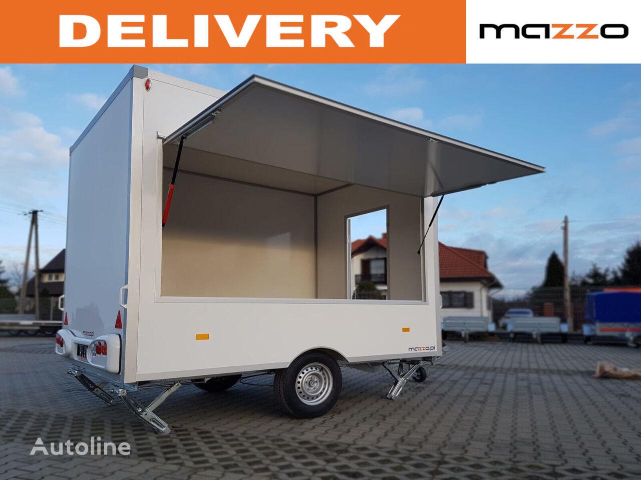 remorque magasin NIEWIADOW H13301H 3x2.03x2.3m Mobile catering trailer street Verkaufsanhän neuve
