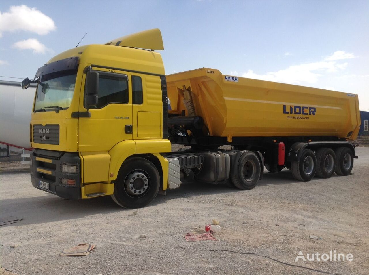 semi-remorque benne LIDER 2020 NEW DIRECTLY FROM MANUFACTURER COMPANY AVAILABLE IN STOCK neuve