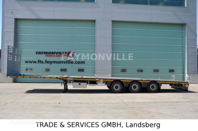 semi-remorque porte-engins FAYMONVILLE Plateauauflieger MAX200-N-3A-13.60-19.5-2.54 neuve