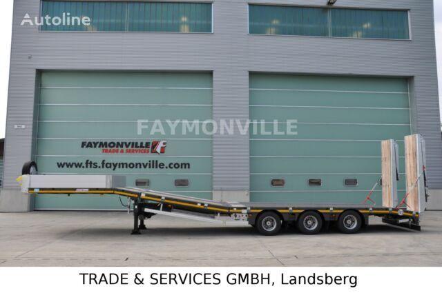 semi-remorque porte-engins FAYMONVILLE Satteltieflader MAX100-N-3B-9.30-U neuve