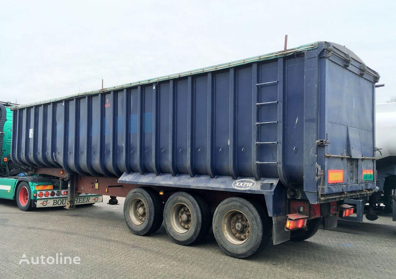 semi-remorque transport de céréales GENERAL-TRAILERS Kipper - Fruehauf 49m3 ALU/Steel - Cover