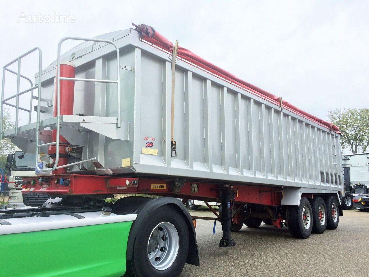 semi-remorque transport de céréales Weightlifter 47m3 ALU/STEEL