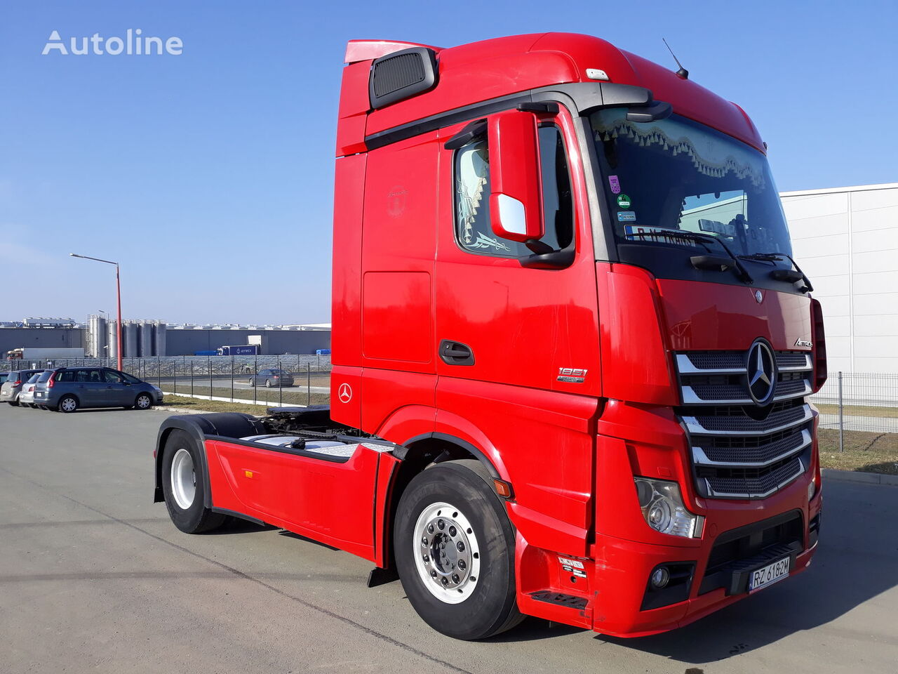 tracteur routier MERCEDES-BENZ ACTROS 1851 MP4
