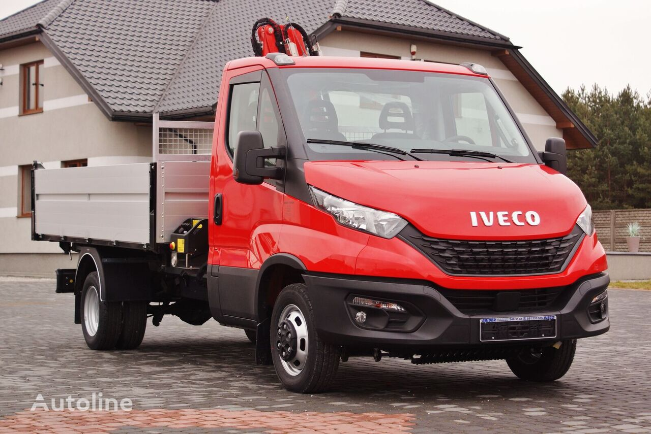 camion-benne < 3.5t IVECO DAILY 50C16 KIPPER 3S+ FASSI M30A.12 5,6 ROTATOR NEW !! 2020 neuf