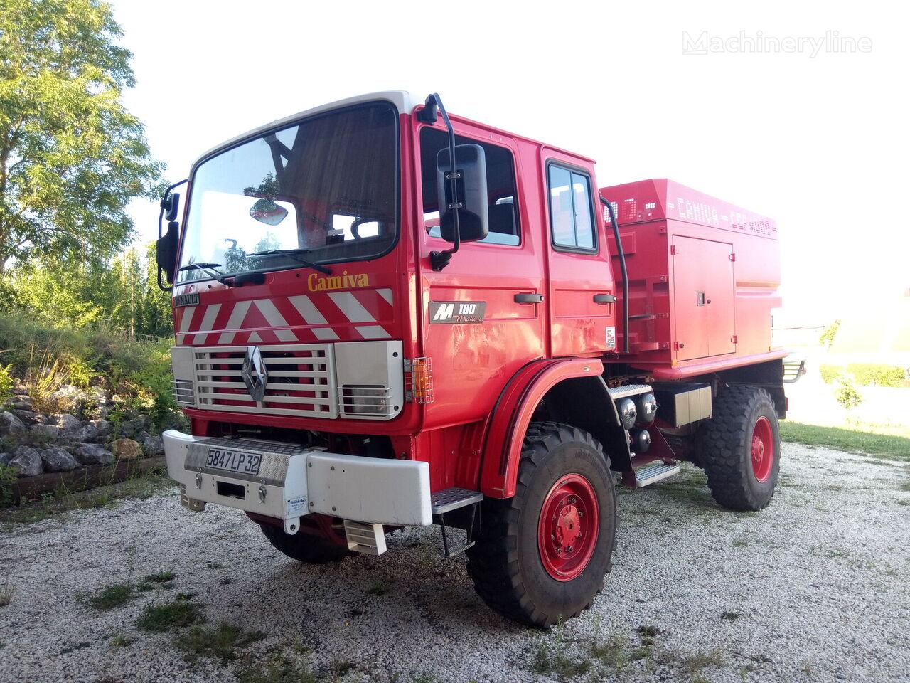 camion de pompiers RENAULT M180 4x4 - CCF4000